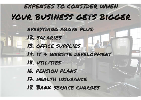 expenses to take into account when your ebay business get bigger and you hire employees