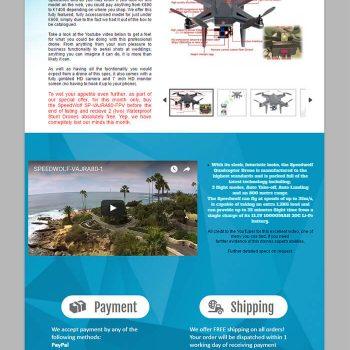 Drone listing