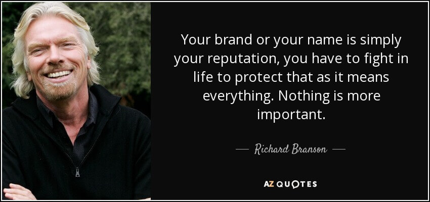 Brand quote