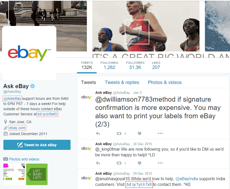 ask ebay - ebay customer service twitter
