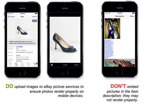 mobile commerce best images in ebay platform