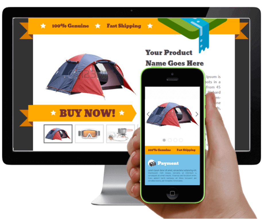 responsive ebay store design