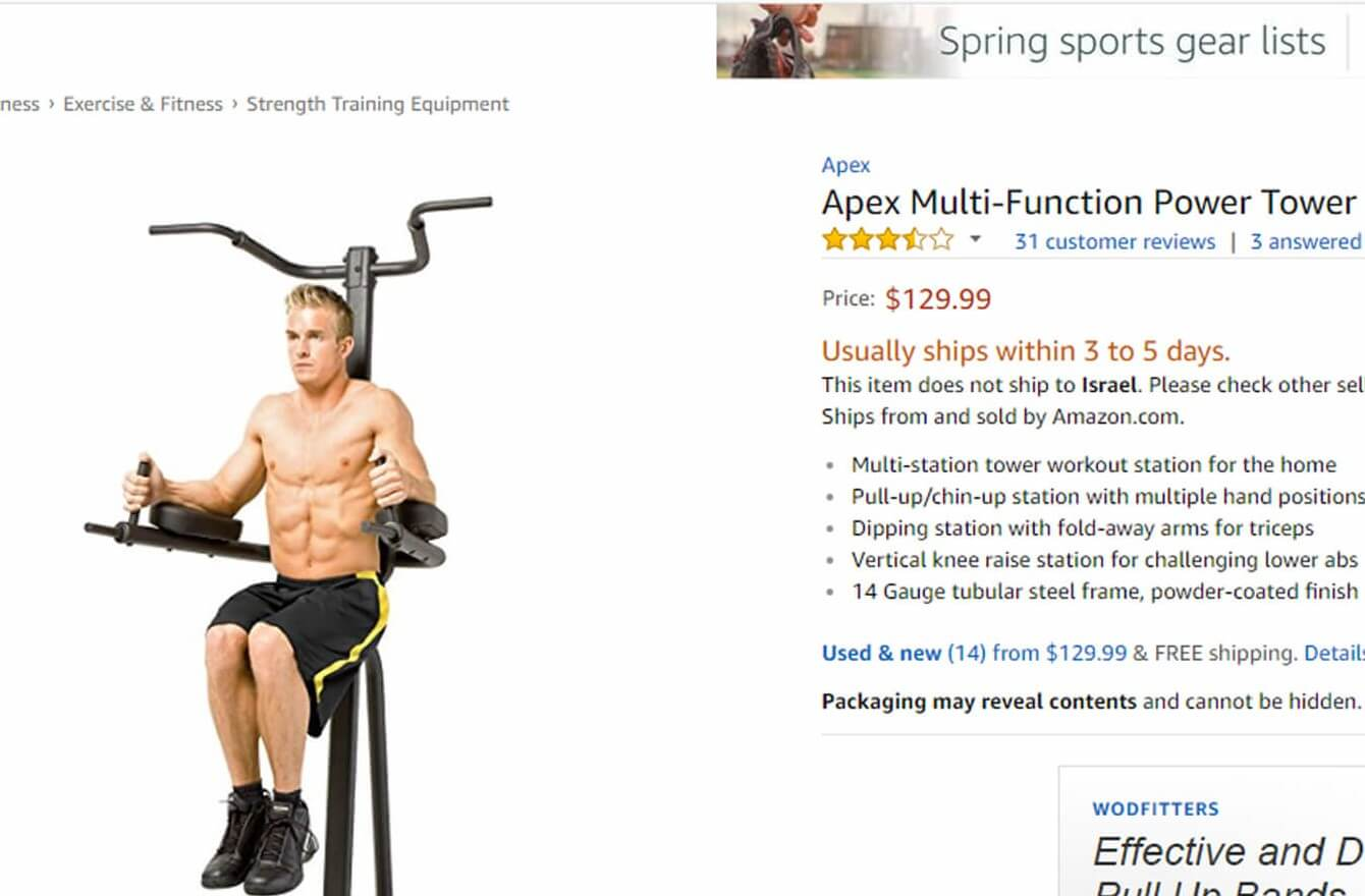 Amazon top selling Exercise equipment