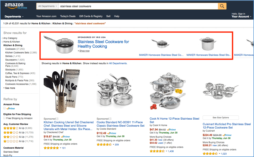 amazon Headline Search Ads