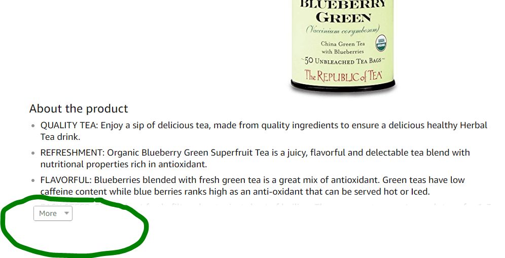 amazon product description bullets