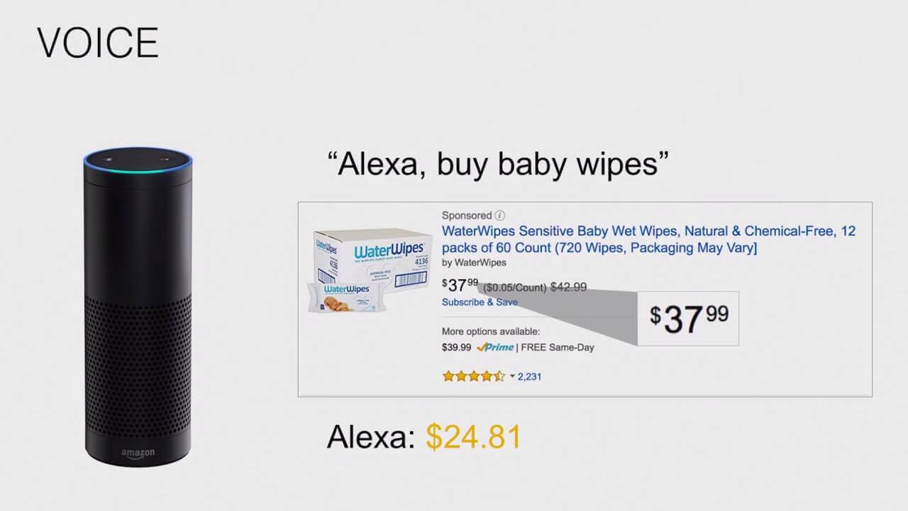 amazon alexa voice commerce device