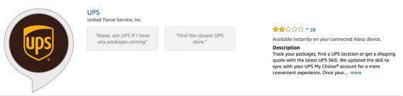 ups voice commerce