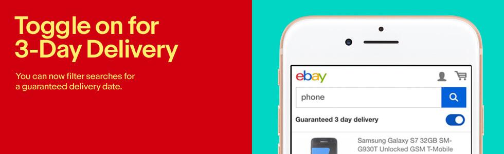 eBay Guaranteed Delivery toggle