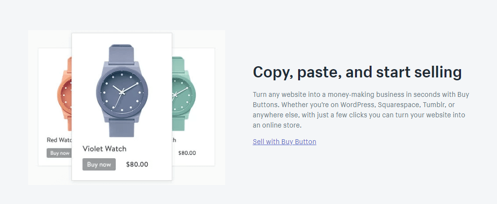 shopify lite buy buttons