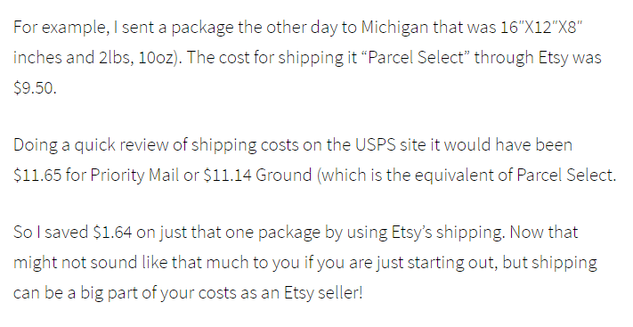 etsy fees calculation